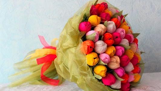 Бизнес-идея: изготовление букетов из конфет