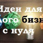 10 оригинальных бизнес идей малого бизнеса