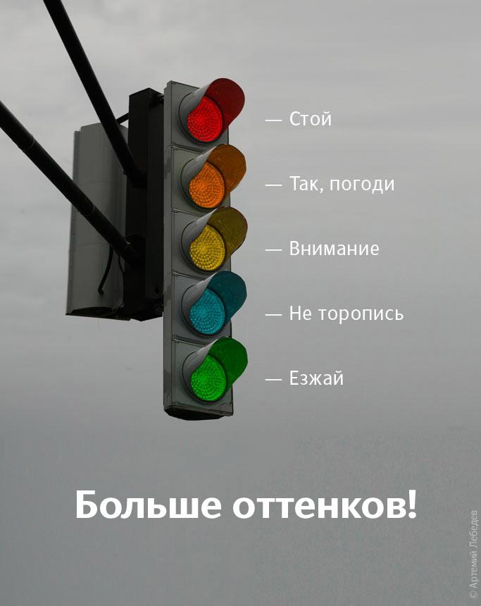 светофор цвета