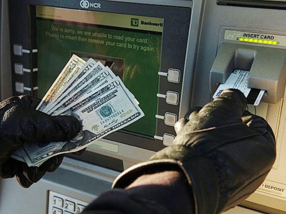 Как воруют деньги из банкоматов