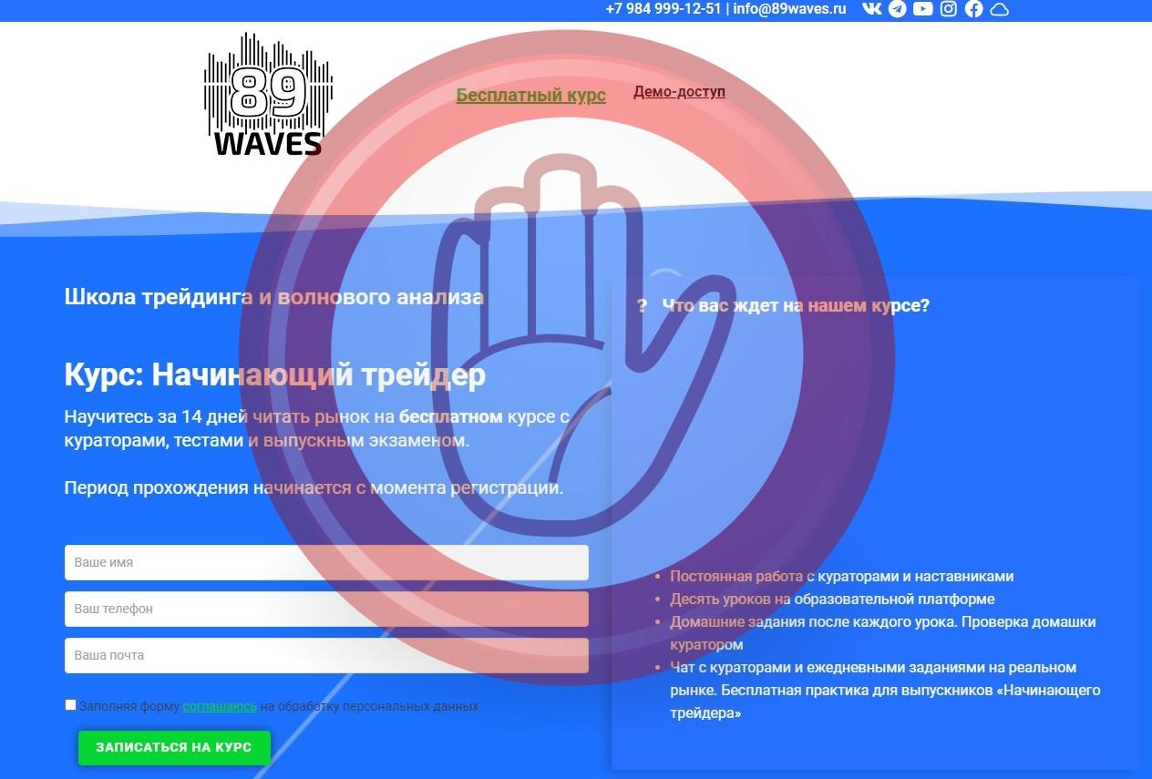 89WAVES — Школа трейдинга и волнового анализа, 89waves.ru